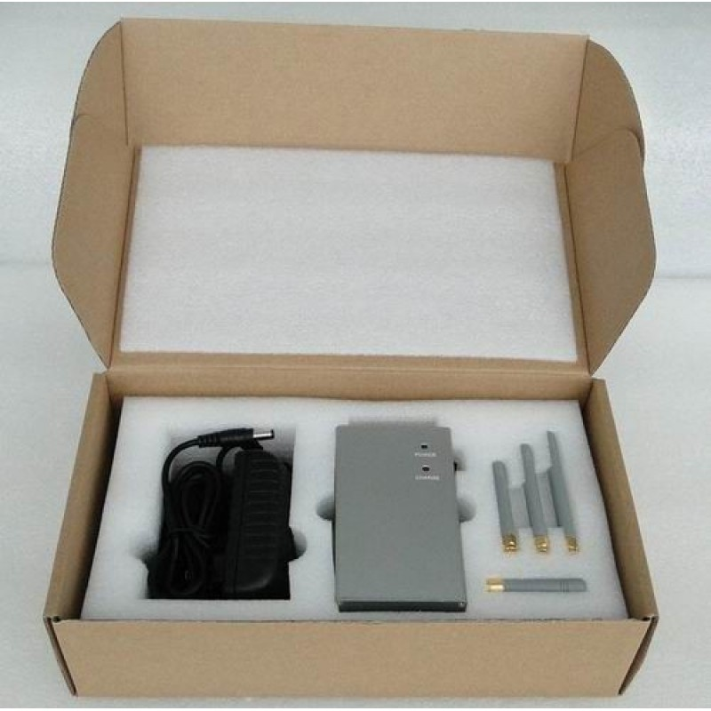62,95 € Envoi gratuit | Bloqueurs de Téléphones Mobiles Bloqueur de signal portable de grande puissance. Antennes omnidirectionnelles GPS Handheld