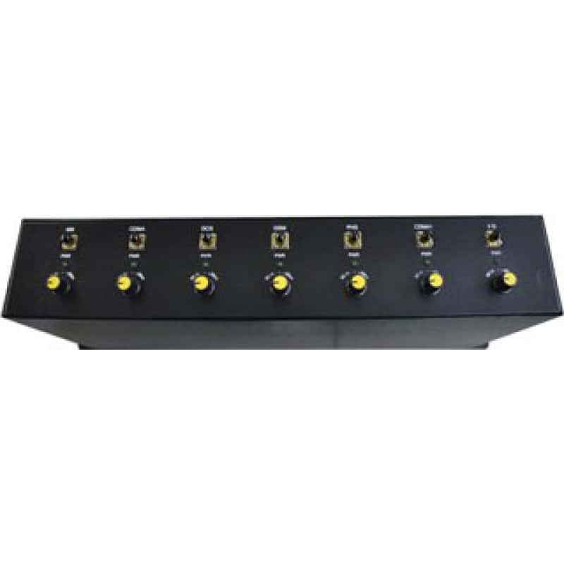 297,95 € Free Shipping | Cell Phone Jammers 17W Multi-band signal blocker GPS