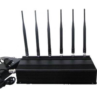 6 Antennas. Signal blocker Cell phone