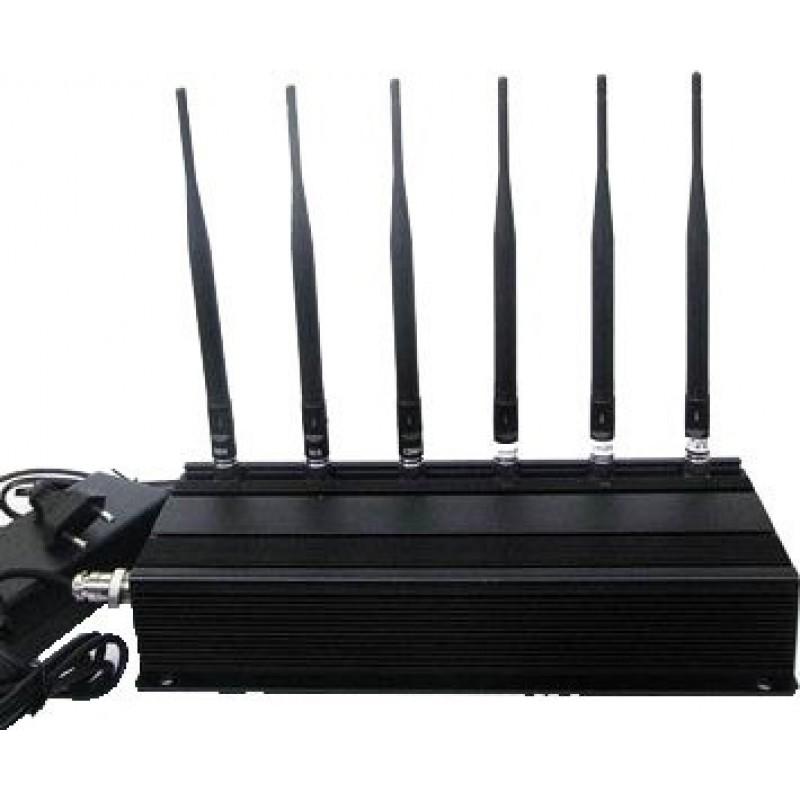 114,95 € Envoi gratuit | Bloqueurs de Téléphones Mobiles 6 antennes bloqueur de signal Cell phone 315MHz