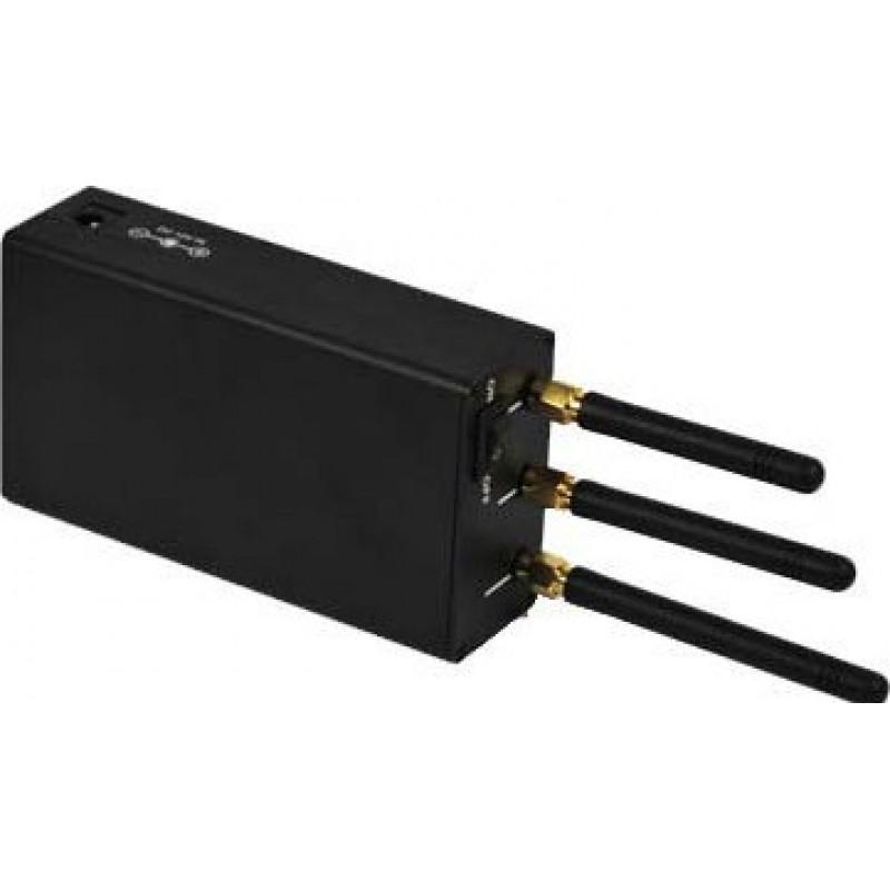 47,95 € Бесплатная доставка   Блокаторы мобильных телефонов Портативный блокатор сигналов высокой мощности Cell phone GSM Portable