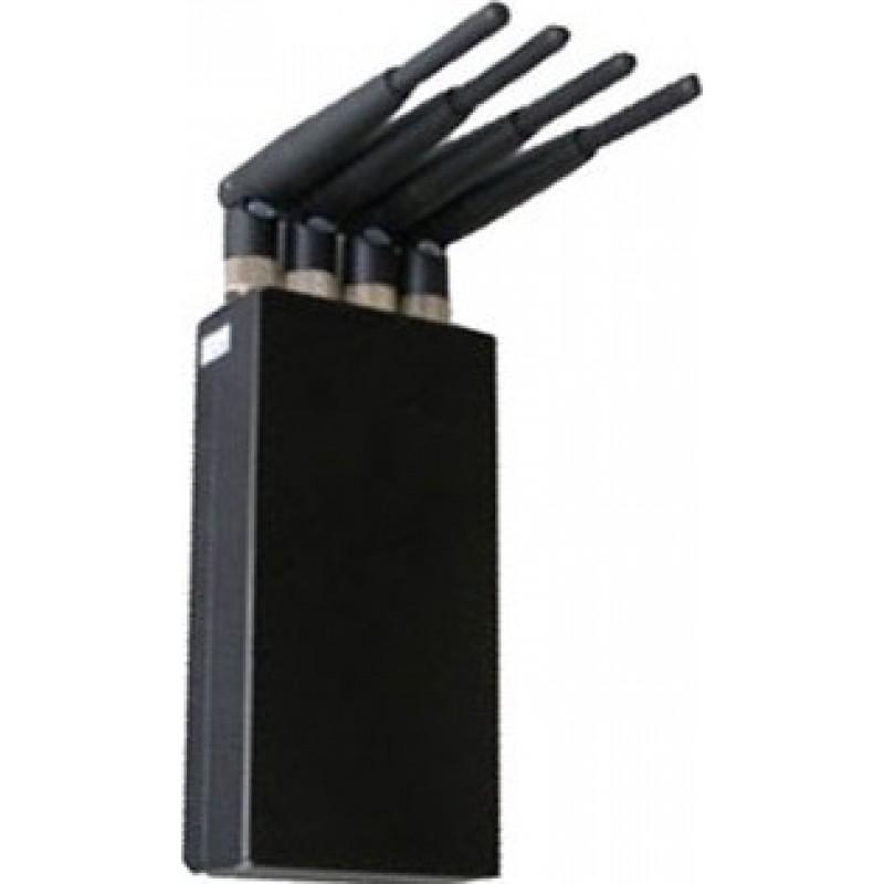 75,95 € Бесплатная доставка   Блокаторы мобильных телефонов 4W портативный блокатор сигналов высокой мощности Cell phone GSM Portable