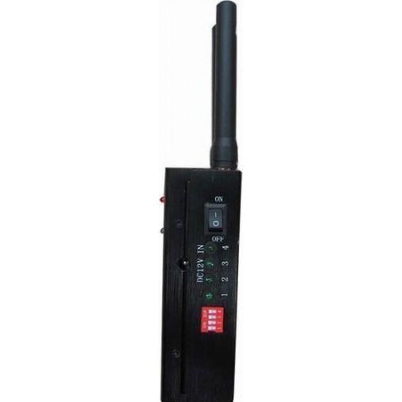 65,95 € Бесплатная доставка   Блокаторы мобильных телефонов Переносной блокатор сигналов высокой мощности с охлаждающим вентилятором Cell phone GSM Portable