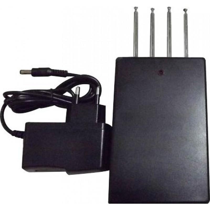 49,95 € Envoi gratuit | Bloqueurs de Télécommande Bloqueur de signal de télécommande de voiture quadribande Radio Frequency 315MHz 50m