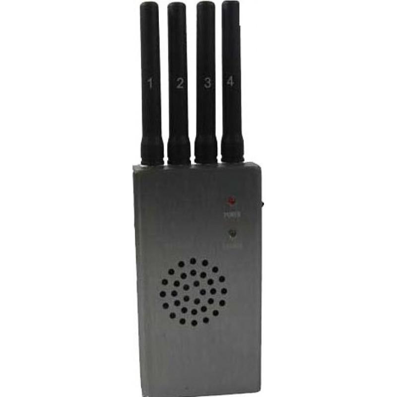 65,95 € Envoi gratuit | Bloqueurs de Téléphones Mobiles Bloqueur de signaux portable haute puissance avec ventilateur Cell phone GSM Portable