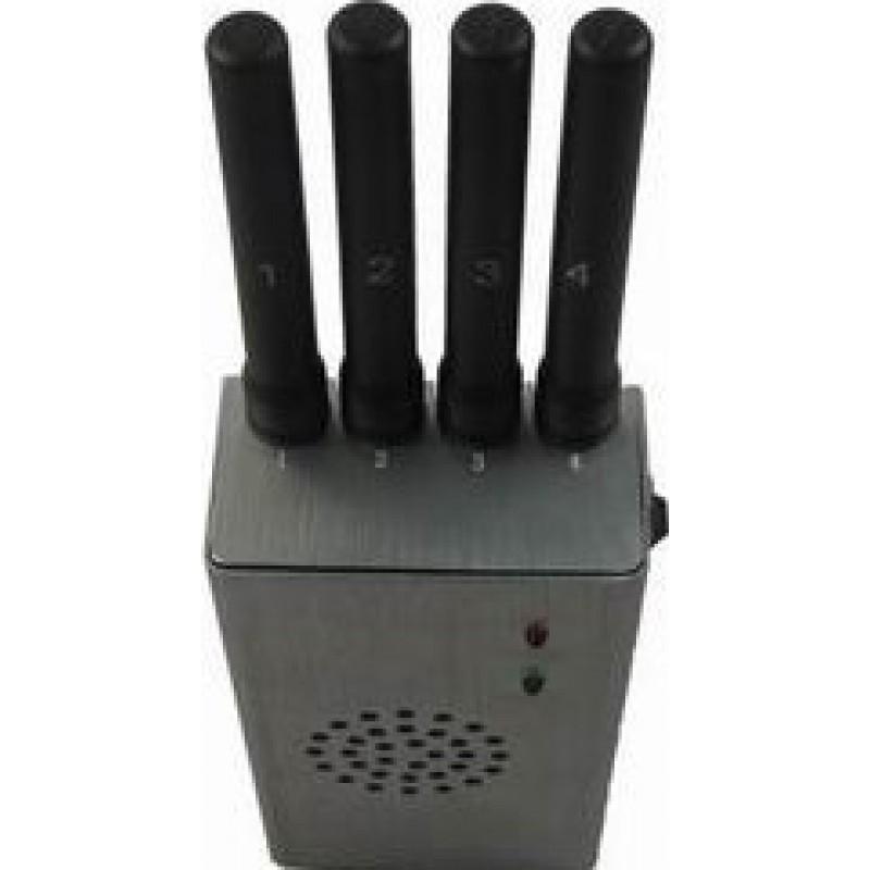 65,95 € Kostenloser Versand | Handy-Störsender Tragbarer Hochleistungs-Signalblocker mit Lüfter Cell phone GSM Portable