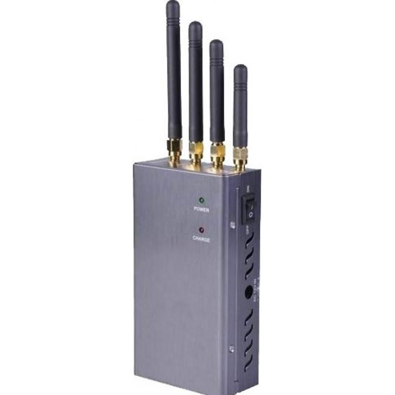 67,95 € Бесплатная доставка   Блокаторы мобильных телефонов Мощный портативный блокатор сигналов Cell phone GSM Portable