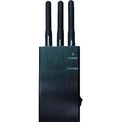 5 bandes. Bloqueur de signal sans fil portable Cell phone