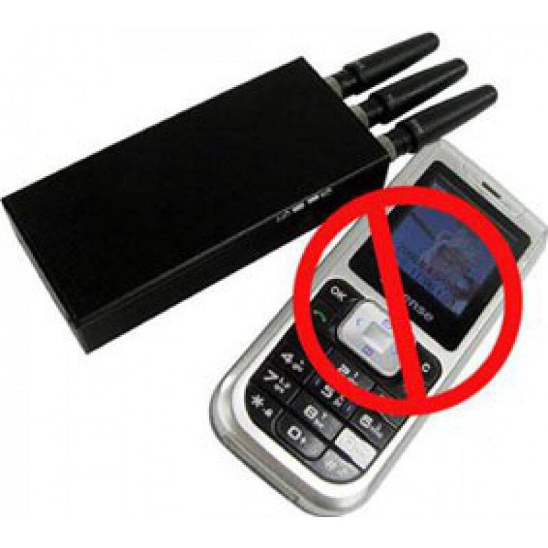 22,95 € Kostenloser Versand | Handy-Störsender Breitspektrum-Signalblocker Cell phone GSM