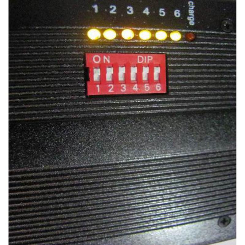 107,95 € 免费送货   手机干扰器 便携式信号阻断器,带高容量电池 GPS 3G Portable