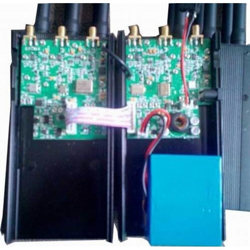 107,95 € Бесплатная доставка | Блокаторы мобильных телефонов Портативный блокатор сигналов с аккумулятором высокой емкости GPS 3G Portable