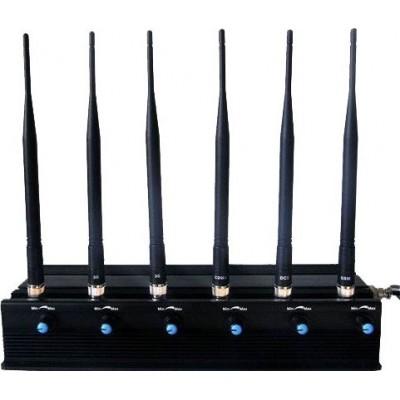 6 bandes. Toutes les télécommandes bloquent le signal Radio Frequency