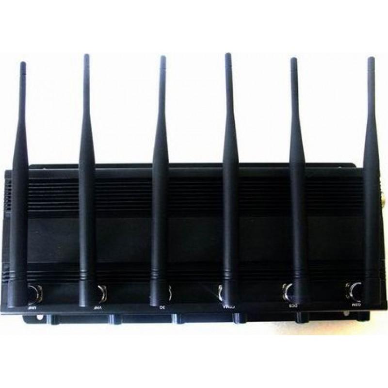 137,95 € Envoi gratuit | Bloqueurs de Télécommande 6 bandes. Toutes les télécommandes bloquent le signal Radio Frequency 315MHz