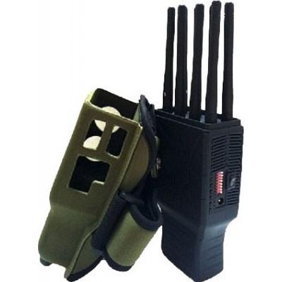 Handheld signal blocker. 8 Bands. All cell phones signal blocker. Nylon case GPS