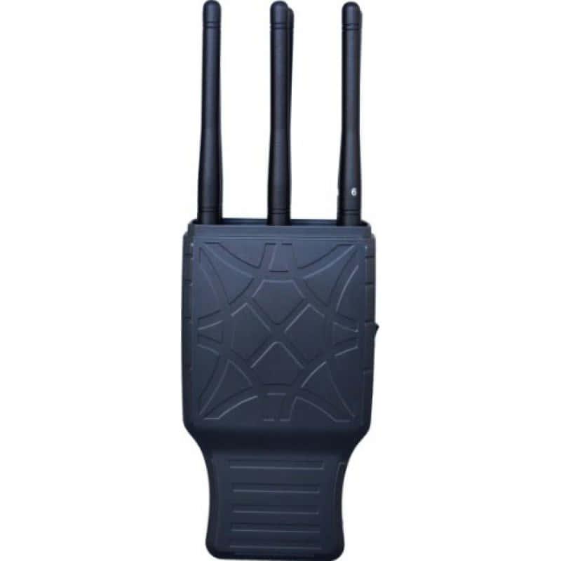 127,95 € Envoi gratuit | Bloqueurs de Téléphones Mobiles 6 bandes. Bloqueur de signal portable avec étui en nylon GPS Handheld
