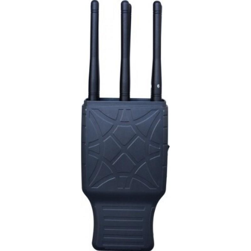 127,95 € Envoi gratuit   Bloqueurs de Téléphones Mobiles 6 bandes. Bloqueur de signal portable avec étui en nylon GPS GSM Handheld