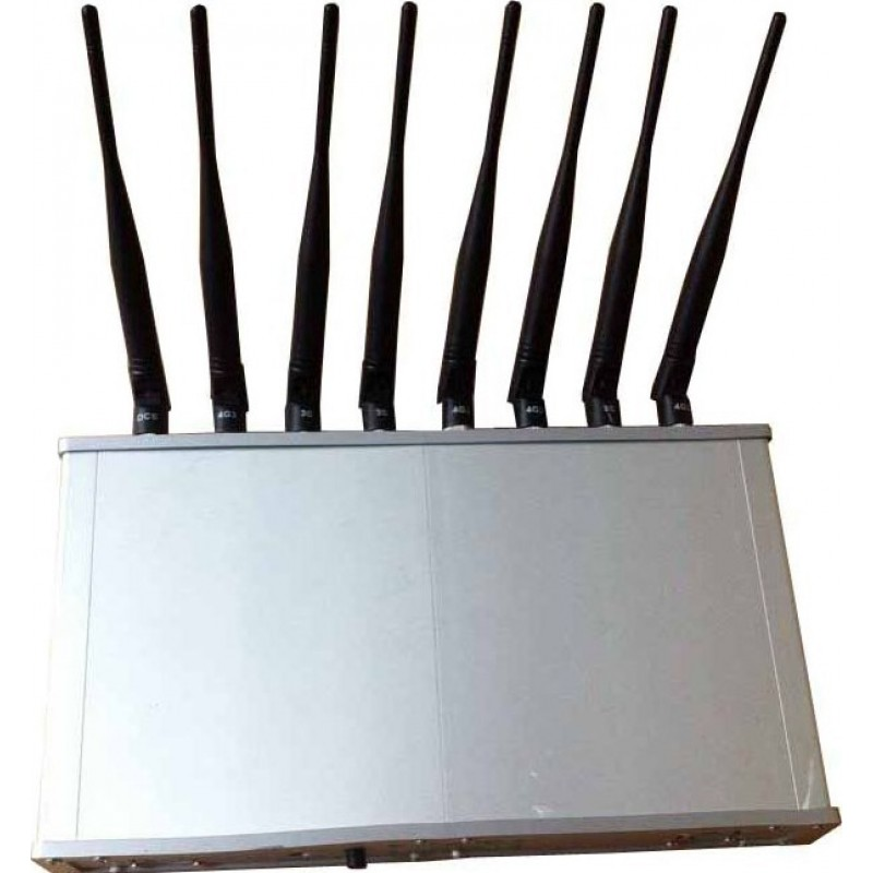 92,95 € Kostenloser Versand   Handy-Störsender 8 Bänder. Desktop-Signalblocker GPS GSM Desktop