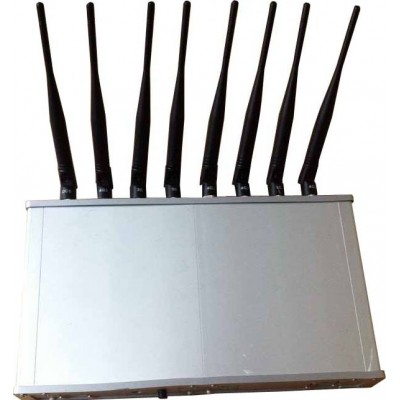 6 bandas. Bloqueador de sinal de mesa Cell phone