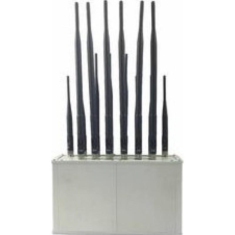 124,95 € Free Shipping | Cell Phone Jammers 6 Bands. Desktop signal blocker Cell phone GSM Desktop