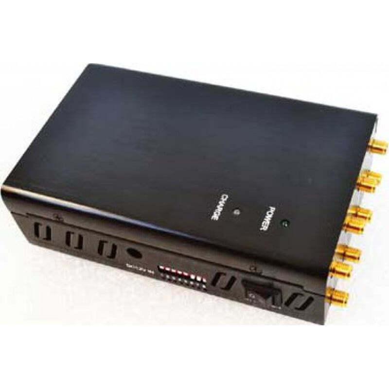 132,95 € Kostenloser Versand | Handy-Störsender 8 Antennen. Handheld-Signalblocker GPS 3G Handheld
