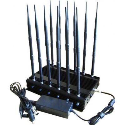 12 bands signal blocker. Satellite phones and car remote controls signal blocker GPS
