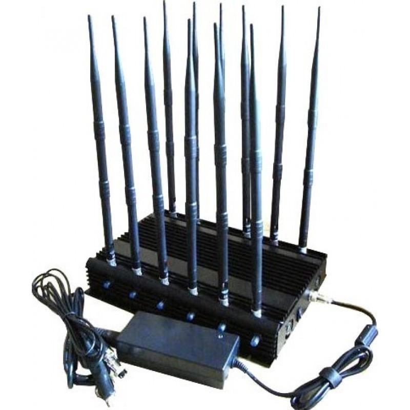 238,95 € Envoi gratuit | Bloqueurs de Téléphones Mobiles bloqueur de signal 12 bandes. Téléphones satellites et télécommandes de voiture bloqueur de signal GPS GSM