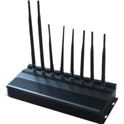 8 Bands. High power signal blocker GPS