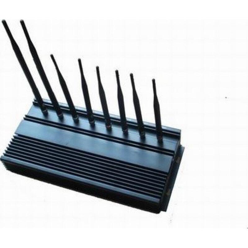 174,95 € Бесплатная доставка   Блокаторы мобильных телефонов 8 полос. Блокатор сигналов высокой мощности GPS 3G