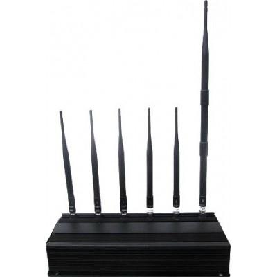 6 antennes bloqueur de signal Cell phone