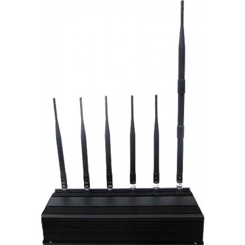 114,95 € Kostenloser Versand   Handy-Störsender 6 Signalblocker für Antennen Cell phone 3G