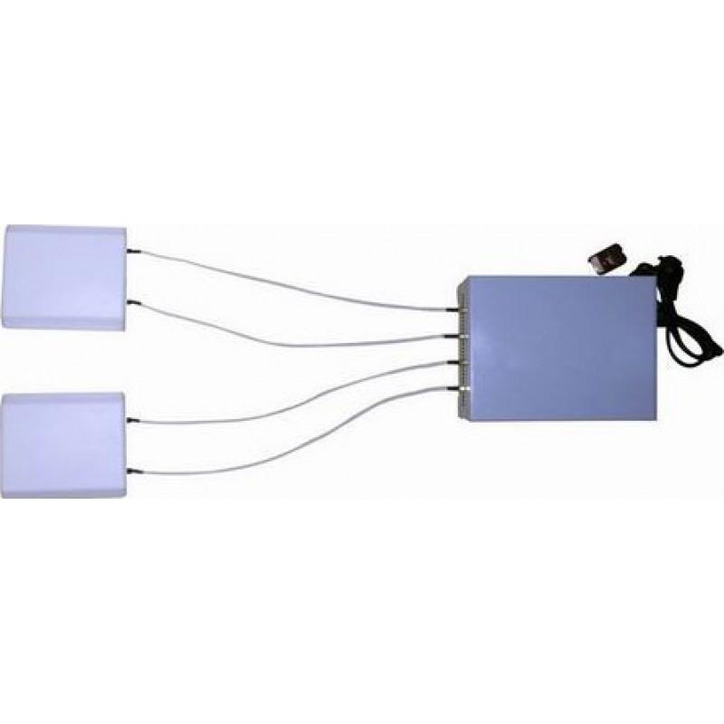 364,95 € 免费送货   手机干扰器 20W遥控信号拦截器,带方向盘天线 Cell phone