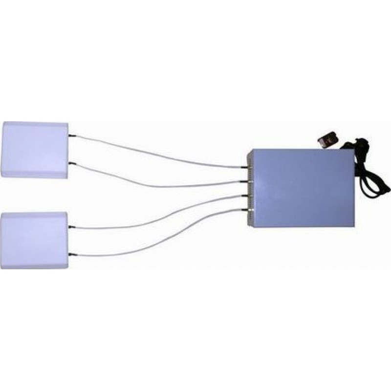 364,95 € Envío gratis   Bloqueadores de Teléfono Móvil bloqueador de señal de control remoto de 20 W con antena de panel direccional Cell phone