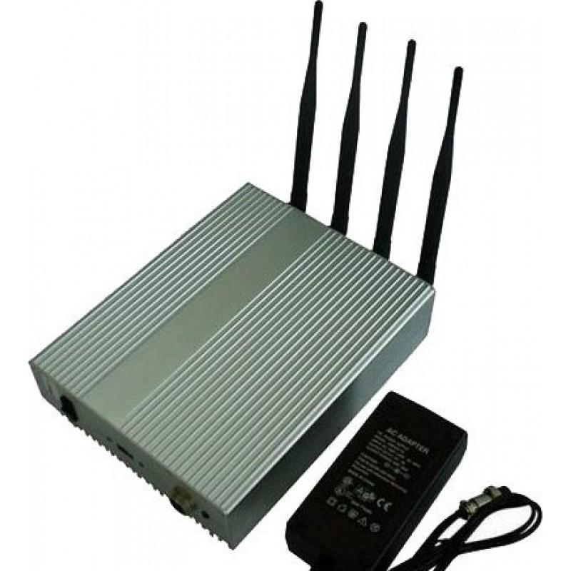 243,95 € Free Shipping | WiFi Jammers 4W Powerful signal blocker WiFi 5.8G