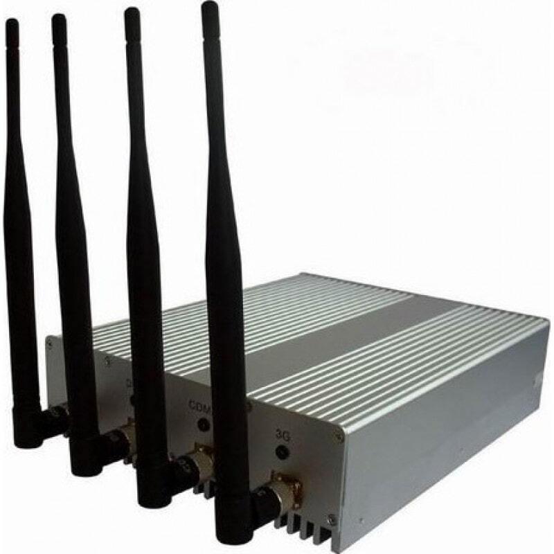243,95 € Envoi gratuit | Bloqueurs de WiFi 4W puissant bloqueur de signal WiFi 5.8G