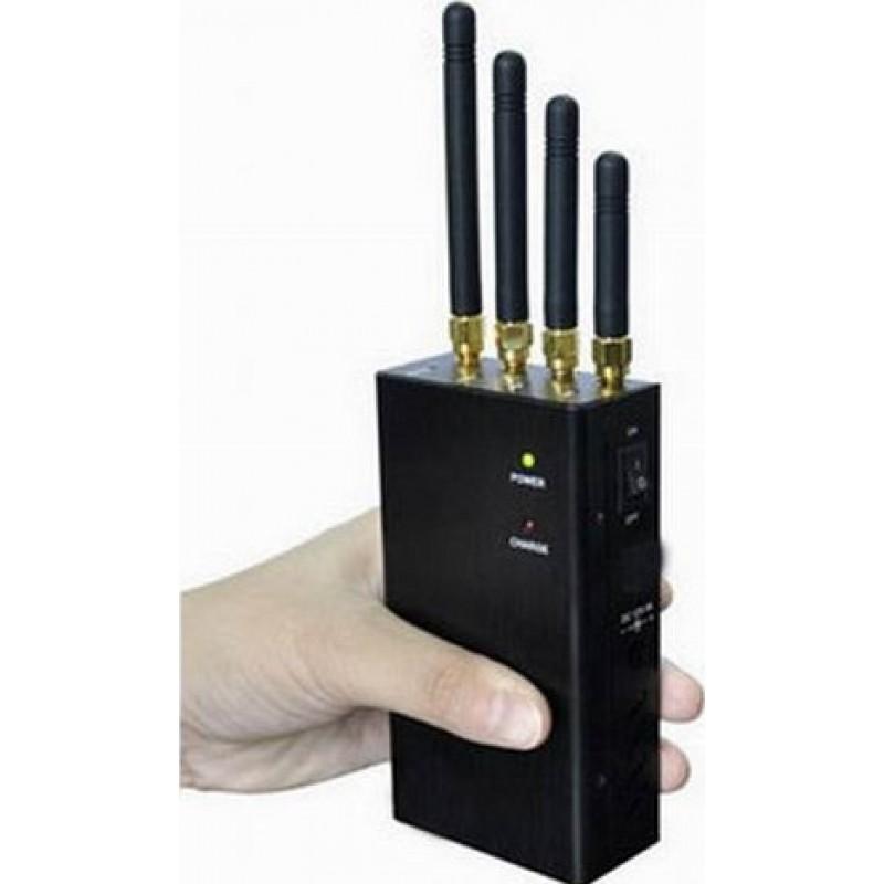 62,95 € Envoi gratuit | Bloqueurs de WiFi Bloqueur de signal portable haute puissance WiFi Portable