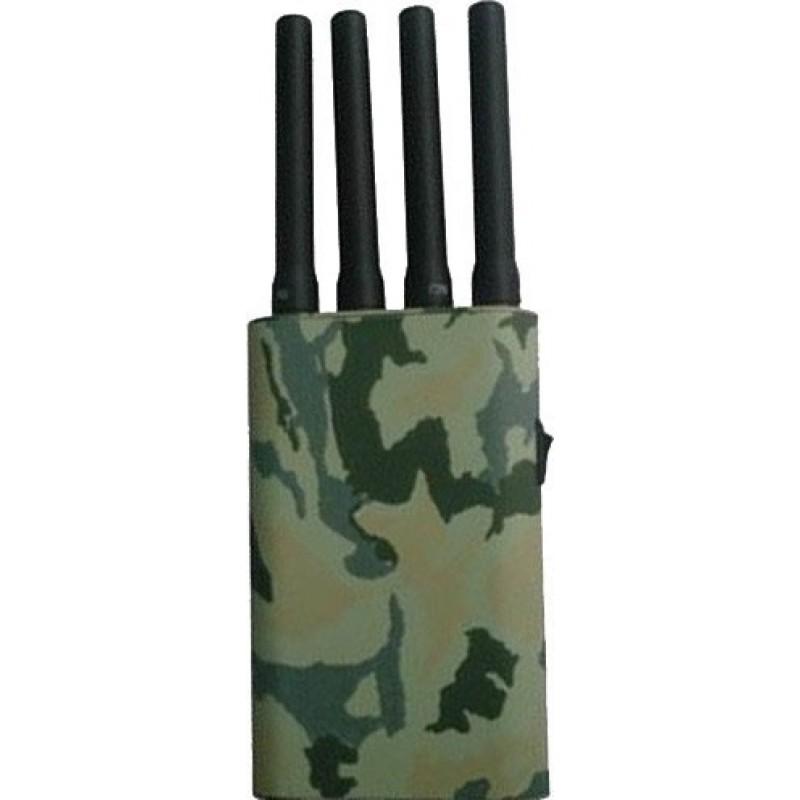 77,95 € Kostenloser Versand | Handy-Störsender Tragbarer Signalblocker mit Tarnbezug GPS Portable