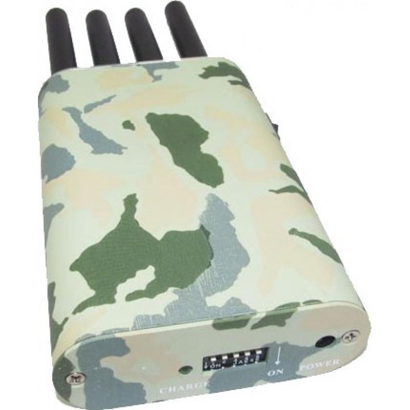 77,95 € 免费送货   手机干扰器 带迷彩罩的便携式信号拦截器 GPS Portable