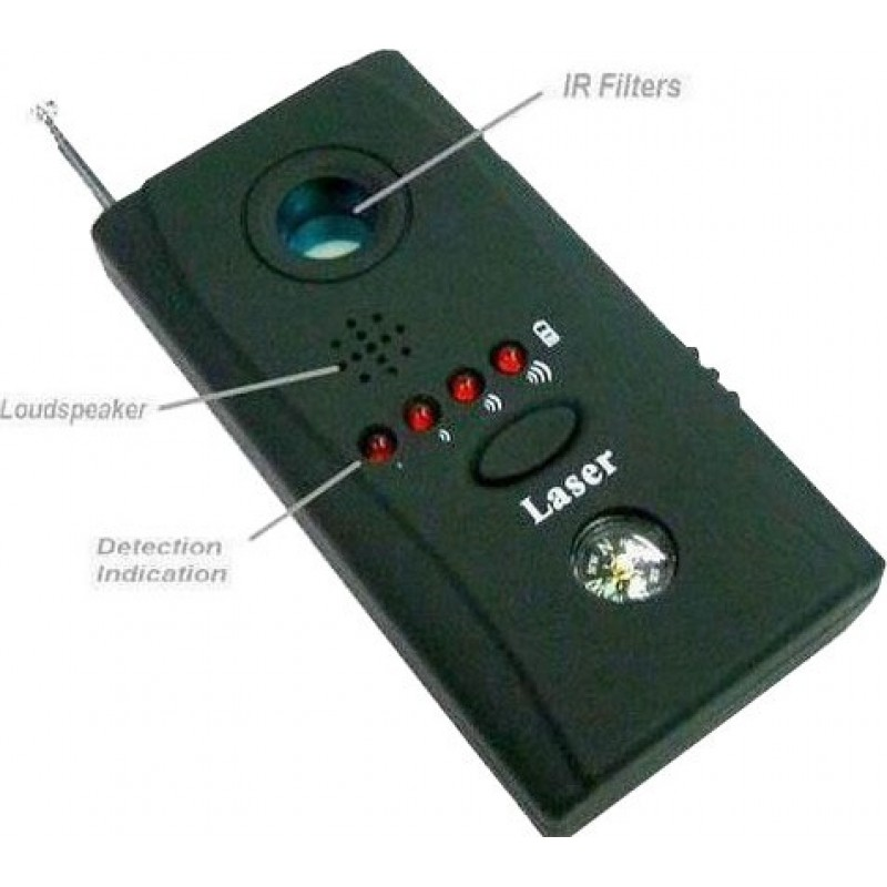 25,95 € Free Shipping | Signal Detectors Anti-spy multi-function detector. Wireless camera and radio frequency detector