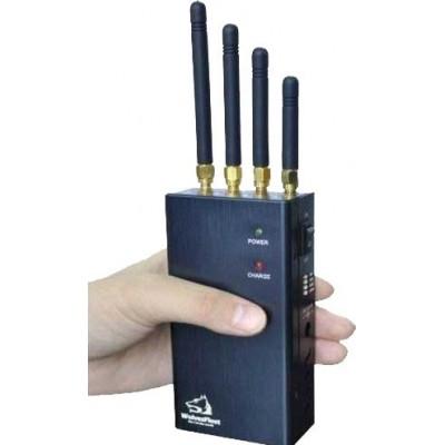 Bloqueur de signal portable avec bouton sélectionnable Cell phone