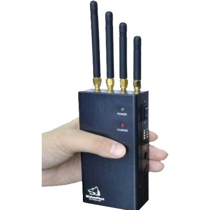 62,95 € Envoi gratuit | Bloqueurs de Téléphones Mobiles Bloqueur de signal portable avec bouton sélectionnable Cell phone Portable