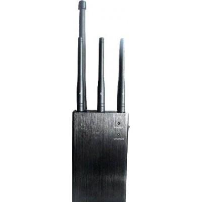 82,95 € Envío gratis | Bloqueadores de Teléfono Móvil Bloqueador de señal seleccionable y portátil GPS 3G Portable