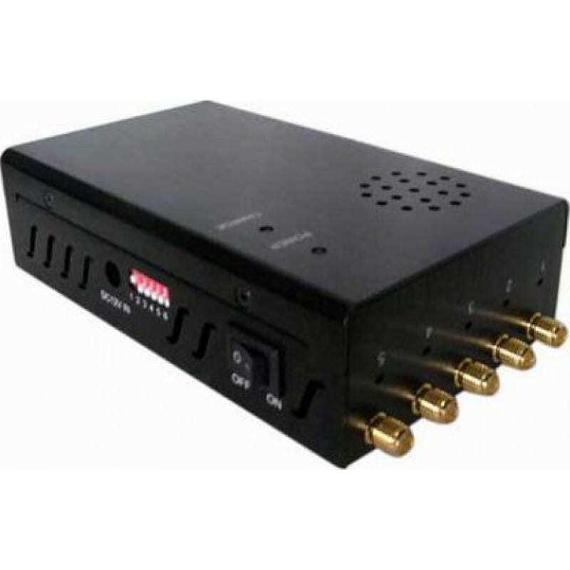 82,95 € 免费送货 | 手机干扰器 可选择和便携式信号阻断器 GPS 3G Portable