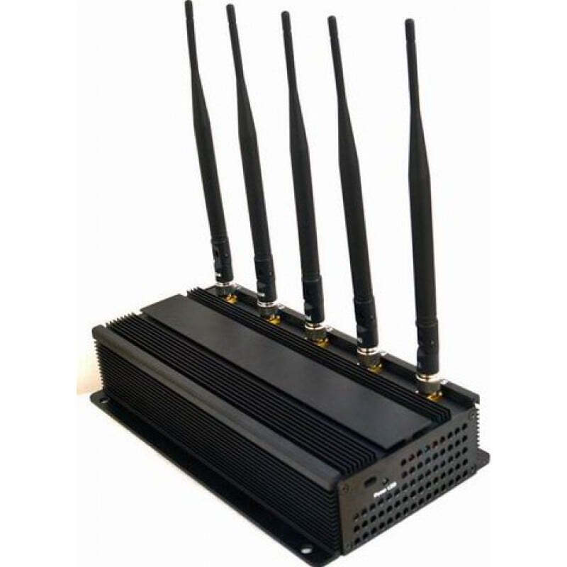 491,95 € Бесплатная доставка | Блокировщики WiFi 5W Мощный блокатор сигналов WiFi 5.8G