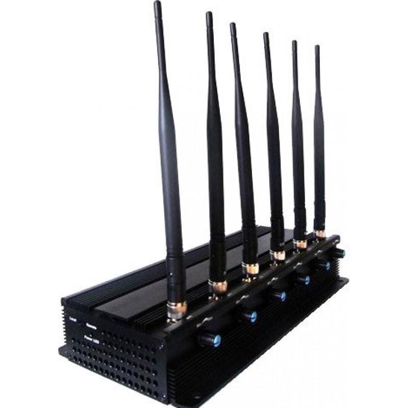 99,95 € Kostenloser Versand   Handy-Störsender Einstellbarer Hochleistungs-Signalblocker. 6 Leistungsstarke Antennen Cell phone 3G
