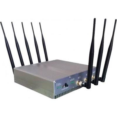 8 antennes. Bloqueur de signaux haute puissance 16W Cell phone