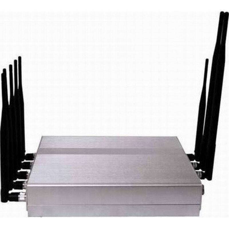 139,95 € Envoi gratuit | Bloqueurs de Téléphones Mobiles 8 antennes. Bloqueur de signaux haute puissance 16W Cell phone 3G