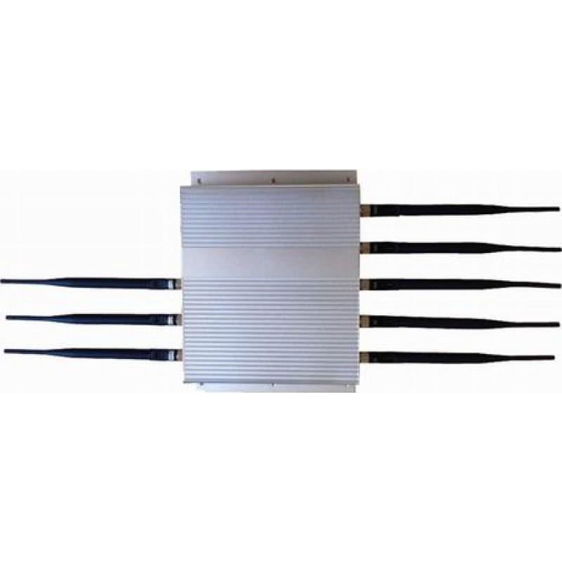 139,95 € Kostenloser Versand   Handy-Störsender 8 Antennen. 16W High Power Signal Blocker Cell phone 3G