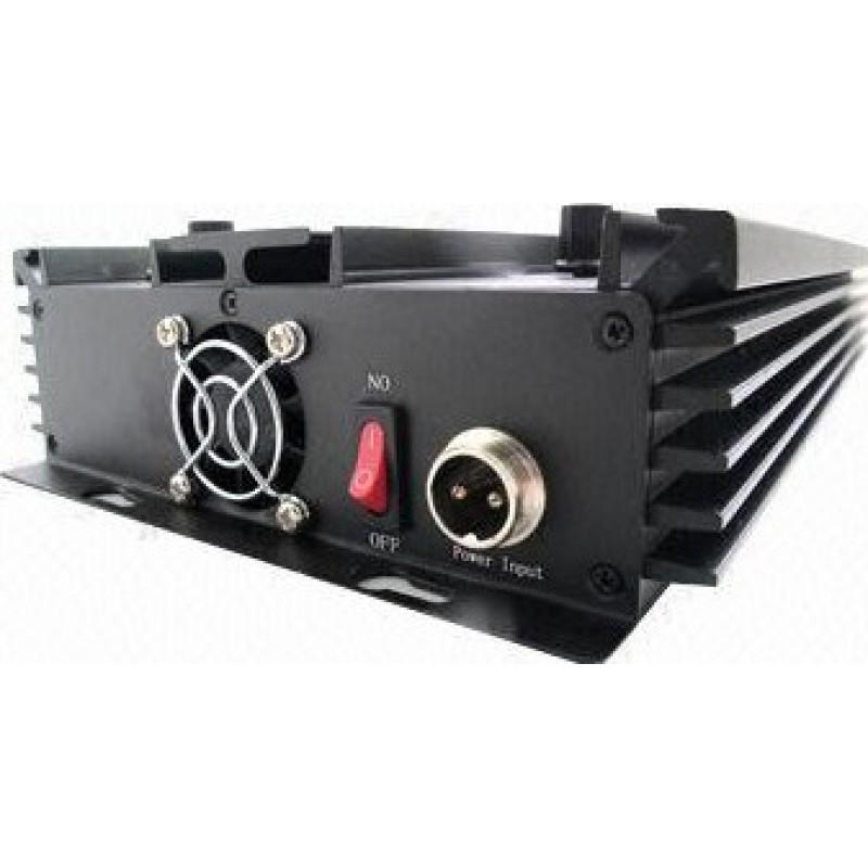 196,95 € Envio grátis | Bloqueadores de Celular 8 bandas. Bloqueador de sinal de todas as frequências ajustável (Versão EUA) GPS 3G