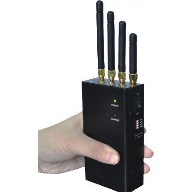 62,95 € Kostenloser Versand | Handy-Störsender Tragbarer Signalblocker mit Kühlgebläsen Cell phone Portable