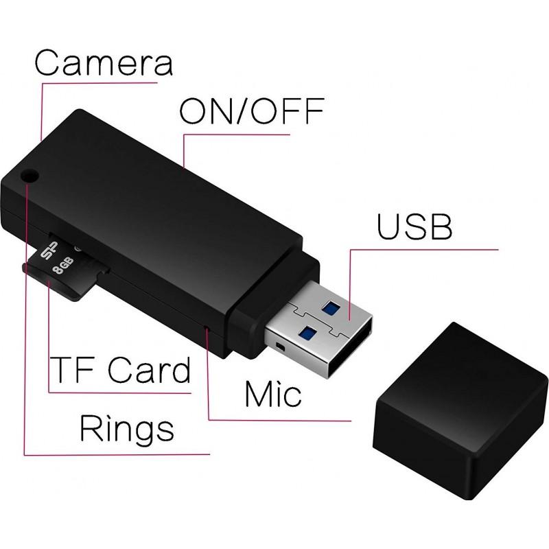 49,95 € Free Shipping   USB Drive Hidden Cameras USB Flash Drive. Hidden Camera. Video Recorder. 1080P HD. Mini U-Disk Portable